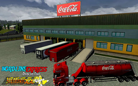 With this mod you will work Coca-Cola Company
