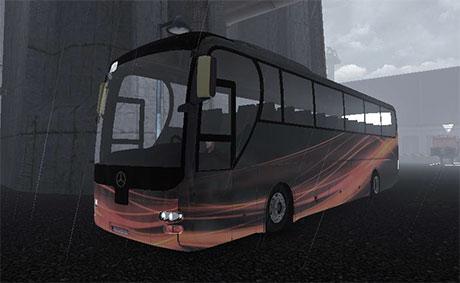 Mercedes Benz bus with interior | ETS 2 mods
