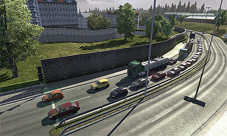 More Traffic with Parked Ai Fix mod v1 3 | ETS 2 mods