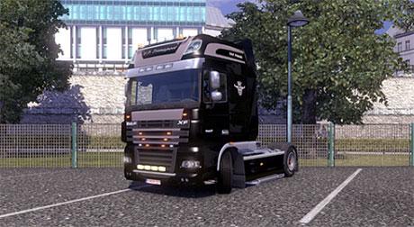 [ETS2] DAF XF V.P. Transport skin Dafxd