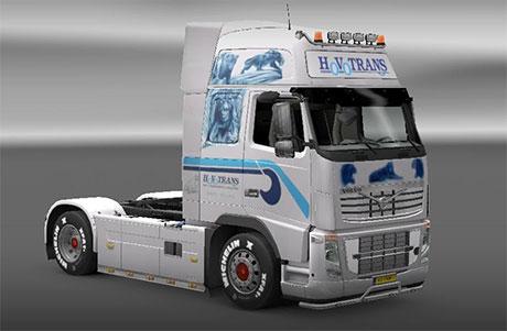 [ETS2] HovoTrans Volvo truck Hv-trans-volvo