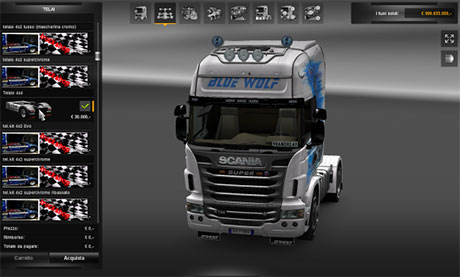 scania 4 4 chassis ets 2 mods. Black Bedroom Furniture Sets. Home Design Ideas