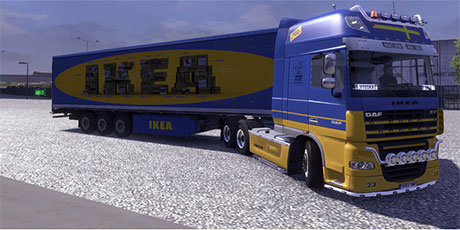 ikea skins ets 2 mods. Black Bedroom Furniture Sets. Home Design Ideas