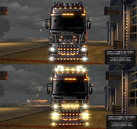 [ETS2] New light mod 1/2013 Scania-halogen