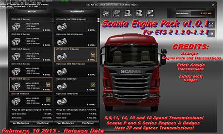 scania Engine | ETS 2 mods - Part 3