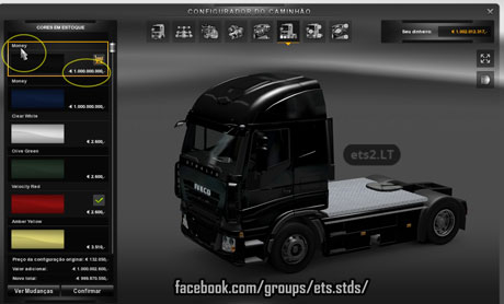 Easy Money Shop  Value: 1 000 000 000 | ETS 2 mods