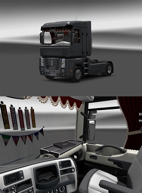 Renault Magnum Interior Magnum-interior
