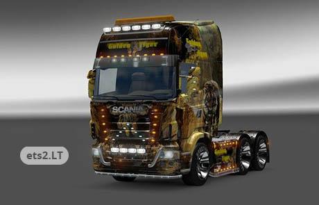 Wysłany: 2013-03-21, 14:07 Scania Golden Tiger Skin