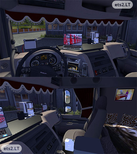 Daf Interior Ets 2 Mods Part 3