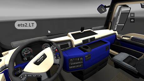 Man blue interior ets 2 mods for Interieur 928
