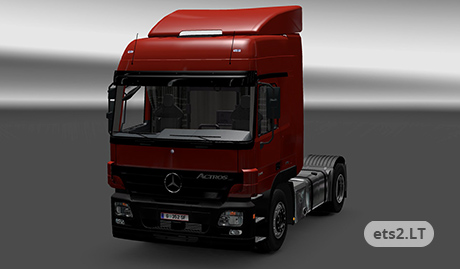 MB LPS 1632 and MB ACTROS 1844L MPII 3