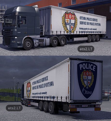police-trailers