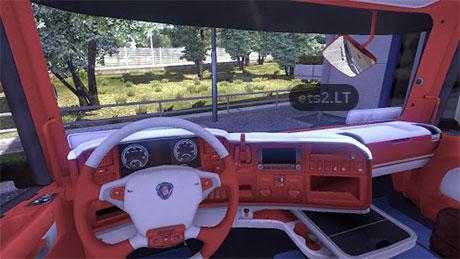 red-white-interior