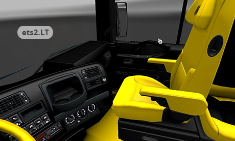 rm black and yellow interior 2