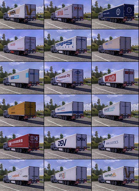 TRAILER PACK with Realistic Textures v1.7.9-1