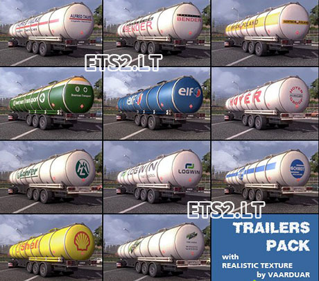 TRAILER PACK with Realistic Textures v1.7.9-2