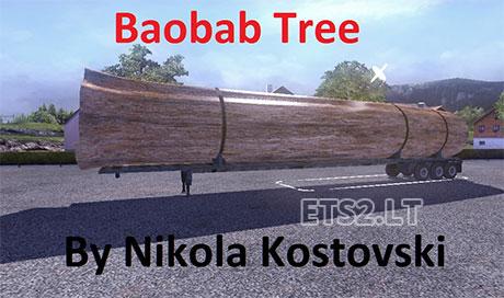 Баобаб трейлер Baoba-trailer