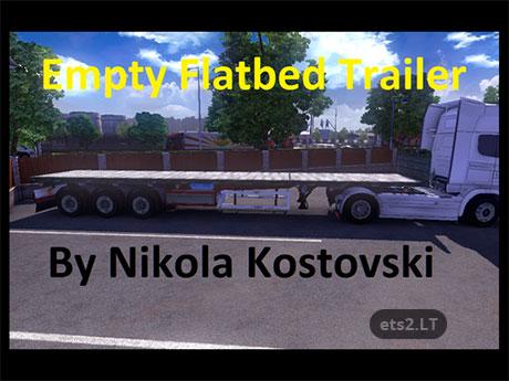 flatbed-trialer