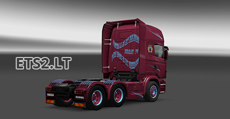 Scania burnley fc skin 2