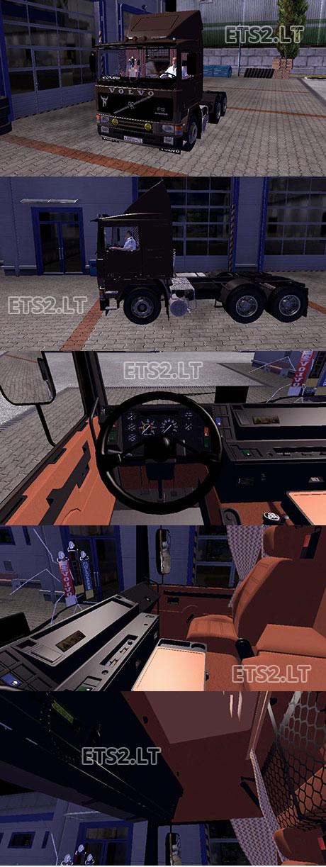 Volvo-FH-12 v 2.0-Intercooler +Interior
