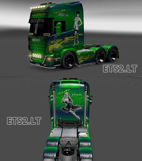 Scania-Jade-Idol-Skin
