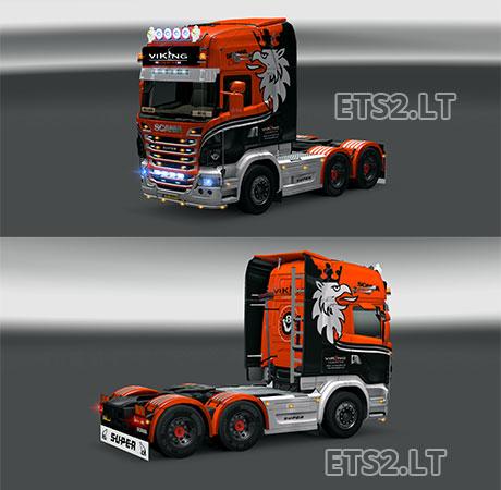 Scania-Viking-Logistics-Skin