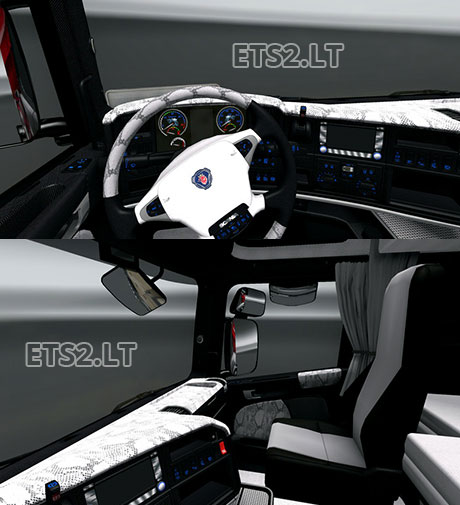 Scania-White-Snake-Interior
