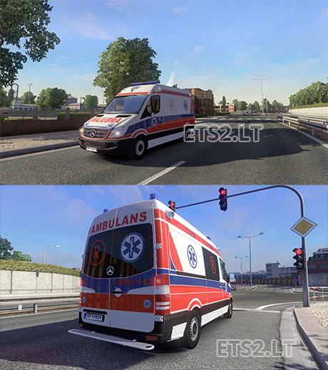 Jeux de ambulance truck