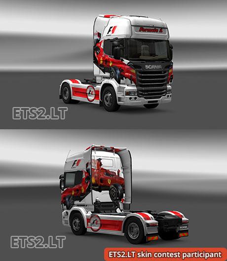 Scania-Formula-1-Skin