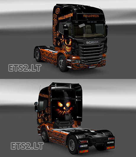 Scania-Happy-Halloween-Skin