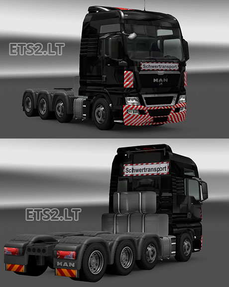 MAN-Schwertransport-Skin-and-8x4-Chassis