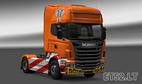 Scania-Schwertransport-Skin
