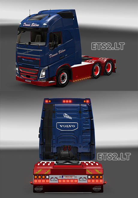 Volvo Fh16 2012 Danish Holland Style V 1 0 Ets 2 Mods