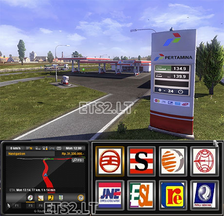 indonesia game play | ETS 2 mods