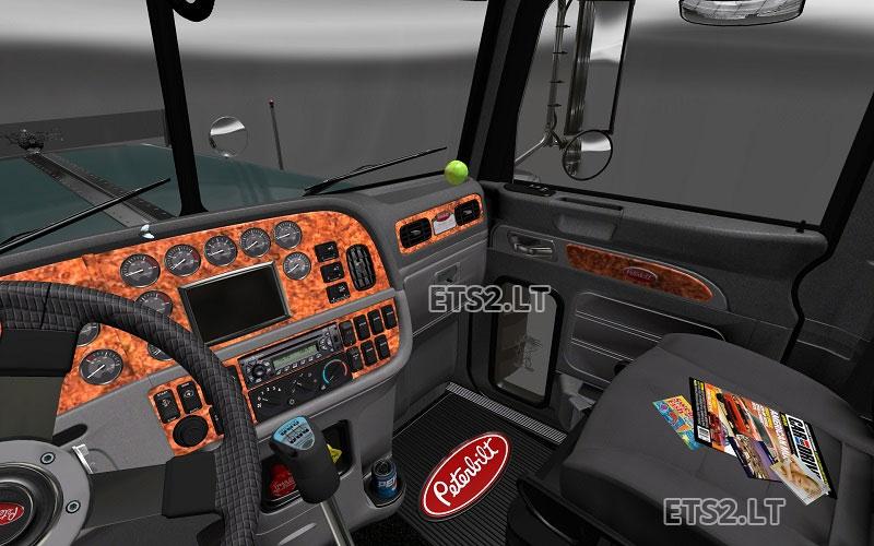 Peterbilt 389 + Interior v1.8.2.5 | ETS 2 mods