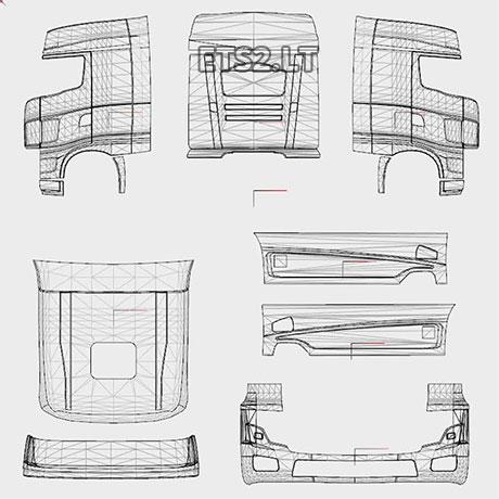 scania r700 | ETS 2 mods - Part 17