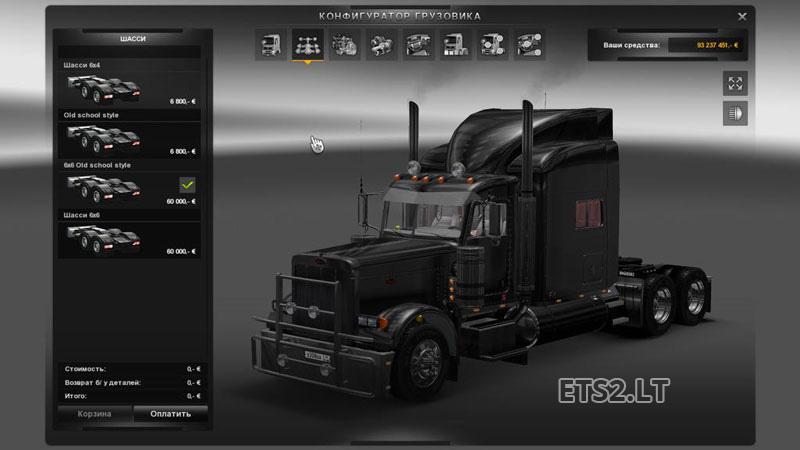 Peterbilt 389 New Parts | ETS 2 mods