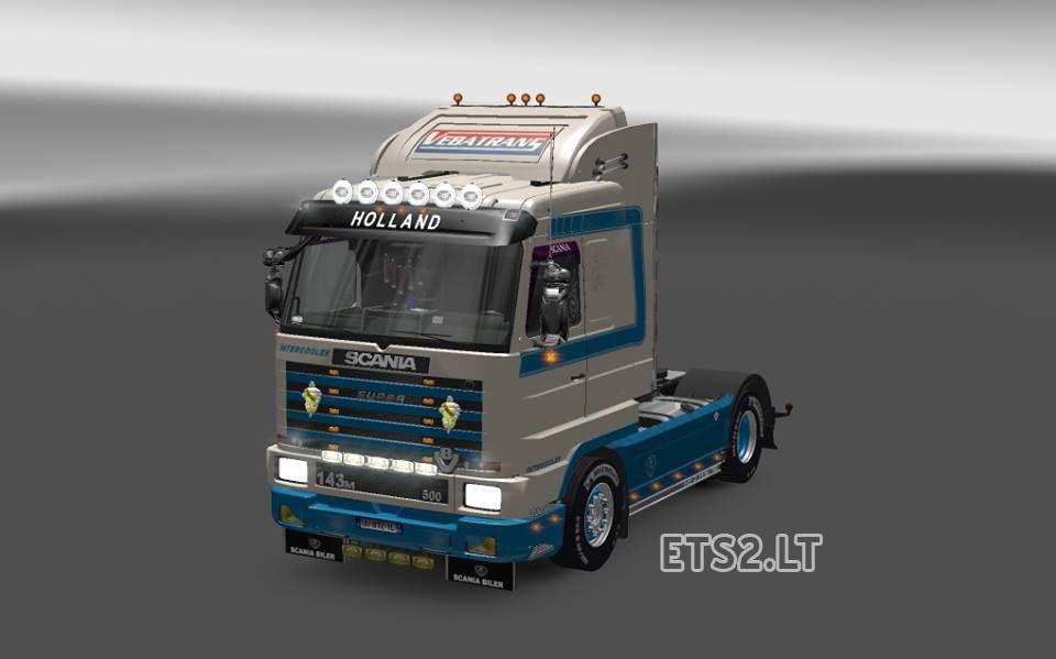Trucks scania ets 2 mods part 12 - Scania 143 Ets 2 Mods Part 2