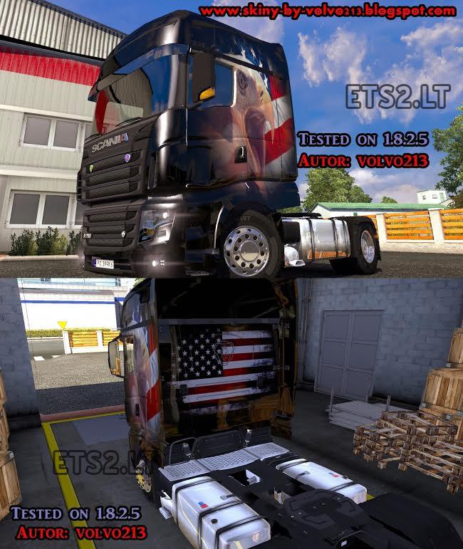 Skins Scania-american