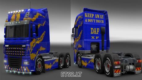 DAF-XF-Blue-Yellow-Skin-1