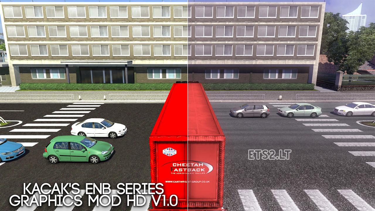 ENB Series Graphics HD Mod v 1 0 | ETS 2 mods