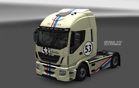 Iveco-Hi-Way-Otelo-Herbie-Skin
