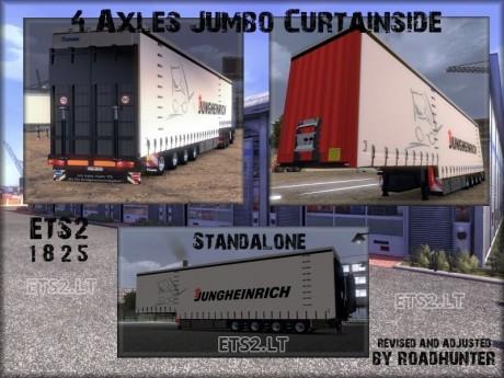 Krone-4-Axles-Jumbo-Curtainsider