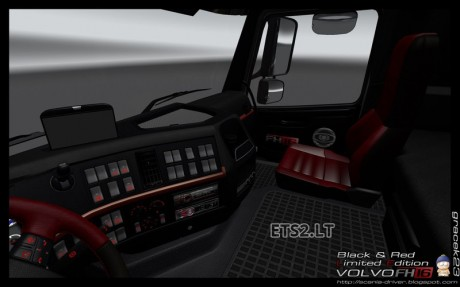 Volvo-FH-16-Black-Red-Interior-2