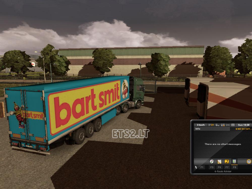 Bart Smit Trailer v.1.5 | ETS 2 mods