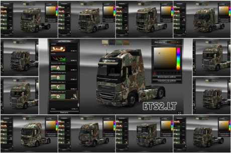 Camouflage-Skin-for-all-Trucks
