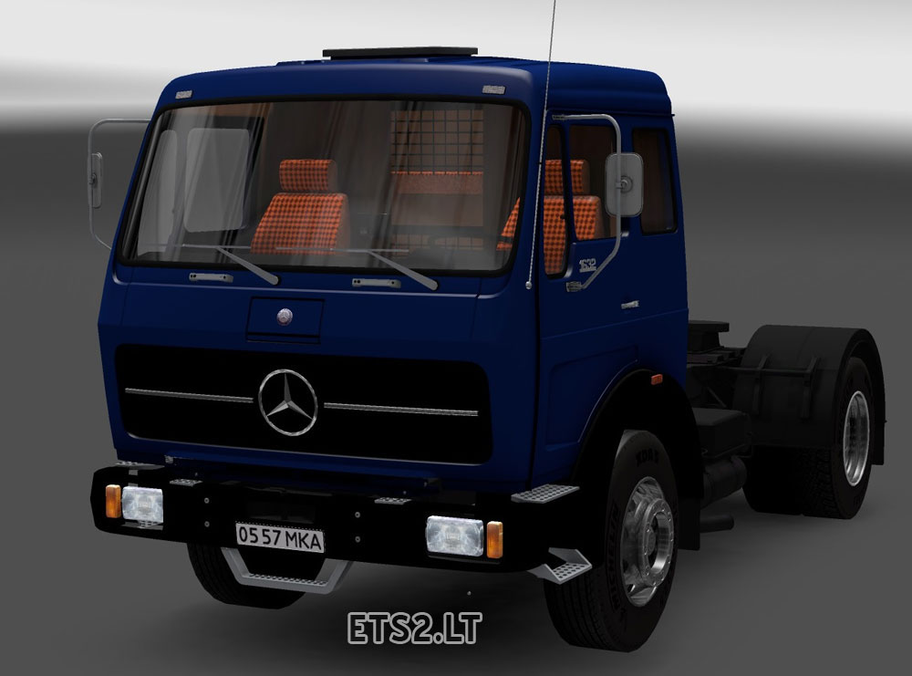Mercedes benz 1632 ets 2 mods part 2 for Old mercedes benz trucks
