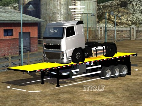 Trailer-with-Volvo-FH-Truck-1