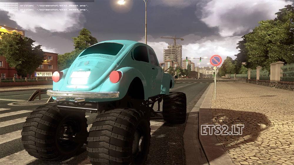 fusca off road ets 2 mods