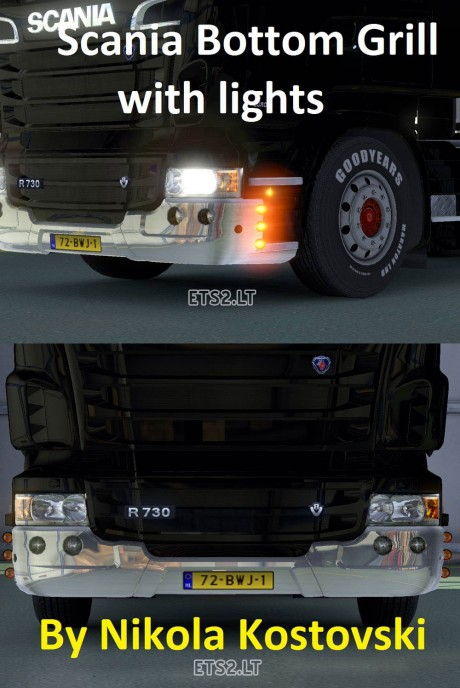 Scania-Bottom-Grill-with-Lights